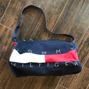 "Tommy Hilfiger 20"" Canvas Duffle Bag"